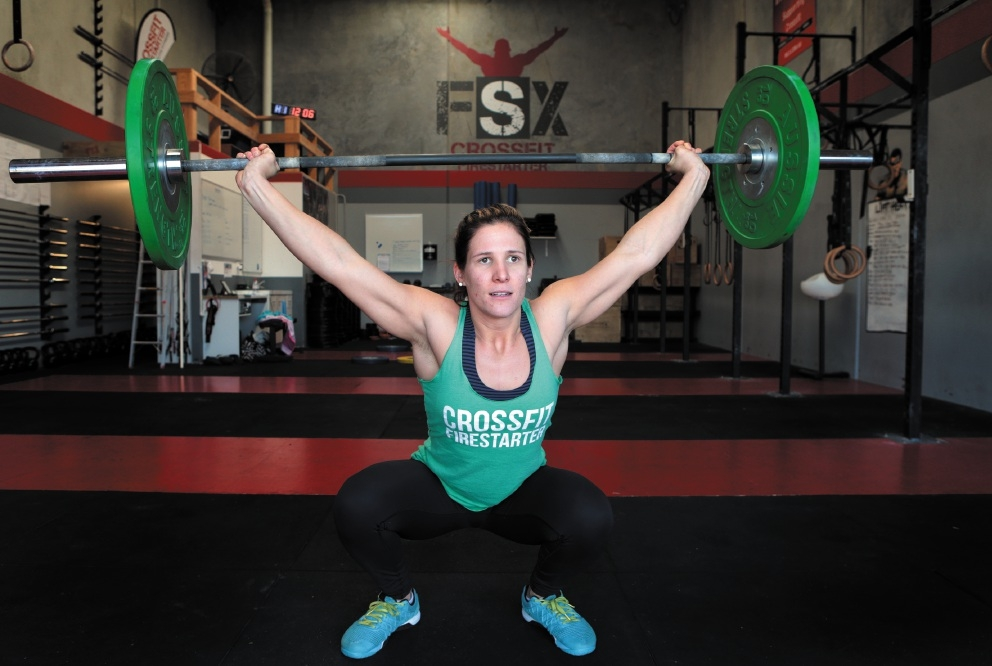 Leah Holmes will represent WA at the Olympic Lifting Nationals. Picture: Martin Kennealey d440851