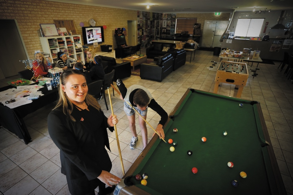 Drop-in centre stands stronger with grant