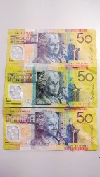 The fake $50 notes found in South Perth.