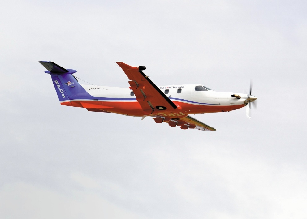 New aircraft for the Flying Doctor