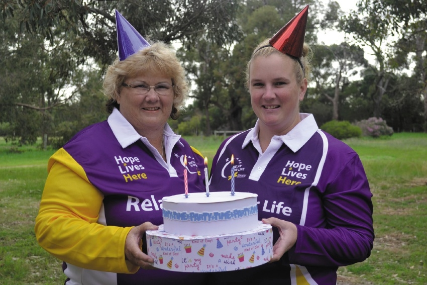 Alison Williams and Nicole Burns from More Birthdays.
