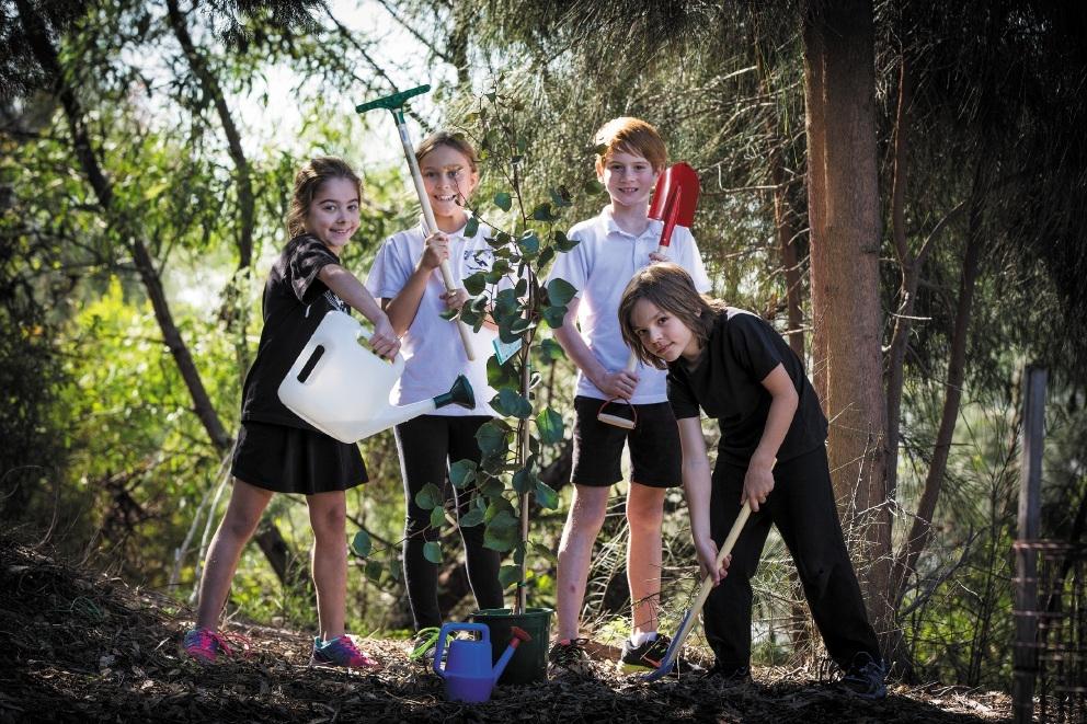 Siantae Pestana, Gemma Trewin, Tyson Woods and Jack Petersen. Picture: Will Russell www.communitypix.com.au   d441298