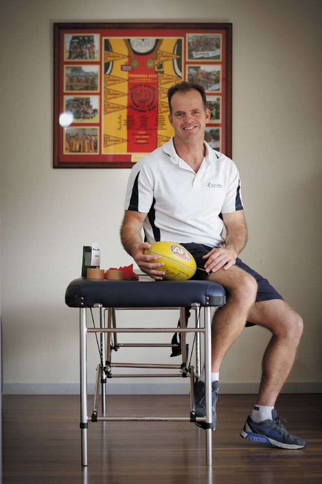 Busy physio shines on