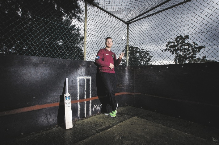 National Indigenous Squad cricketer D'Arcy Short.  Picture: Will Russell        www.communitypix.com.au   d441567