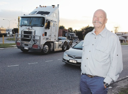 Robert Fittock wants a complete tunnel to stop trucks dominating North Fremantle.