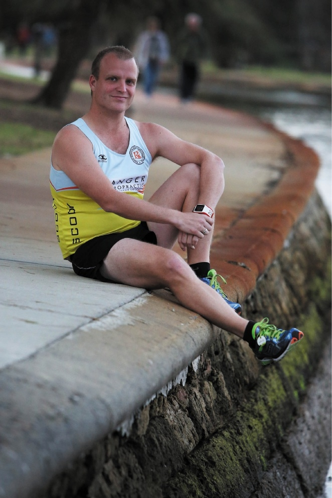 Ranger Daniel Sharples is taking part in the City to Surf to raise money for beyondblue.  Picture: Matt Jelonek         d441274