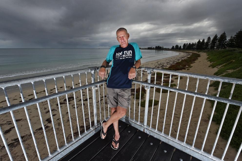 Despite a leukaemia diagnosis, Safety Bay man Wayne Mailer will take part in HBF Run for a Reason on Sunday