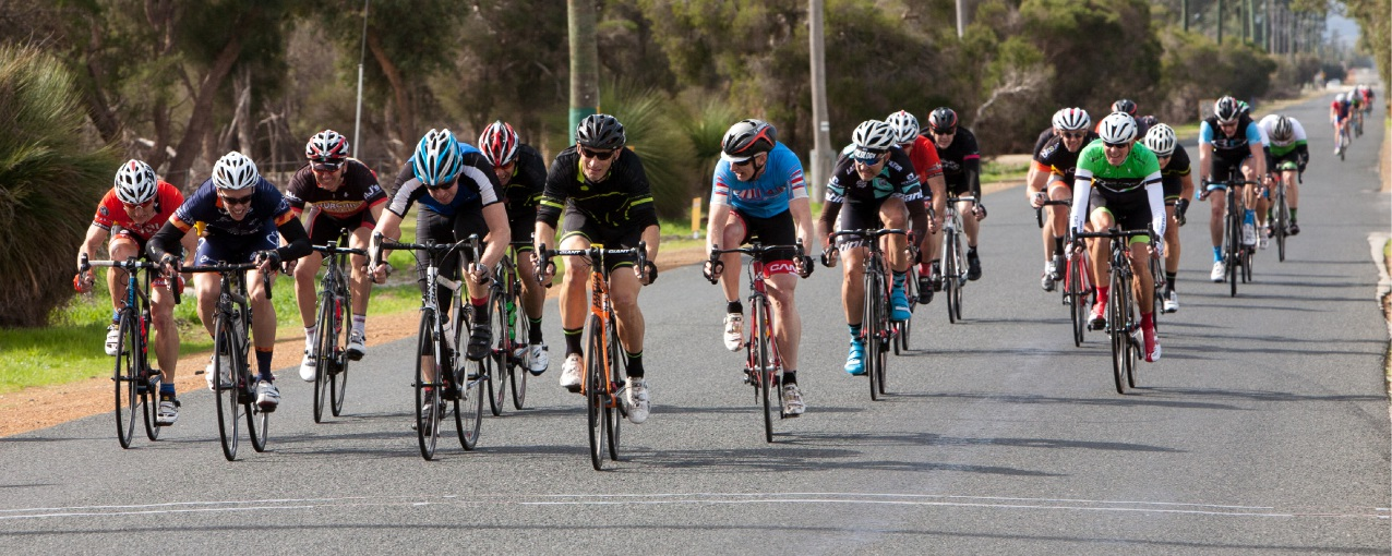 Tim James leads in B Grade. Picture: Nick Cowie
