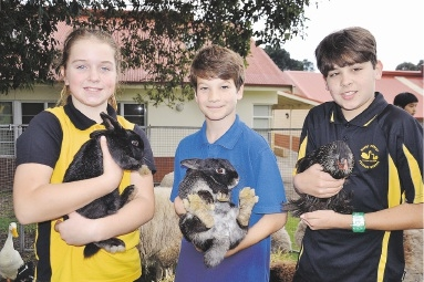 Students extend thanks to farmers