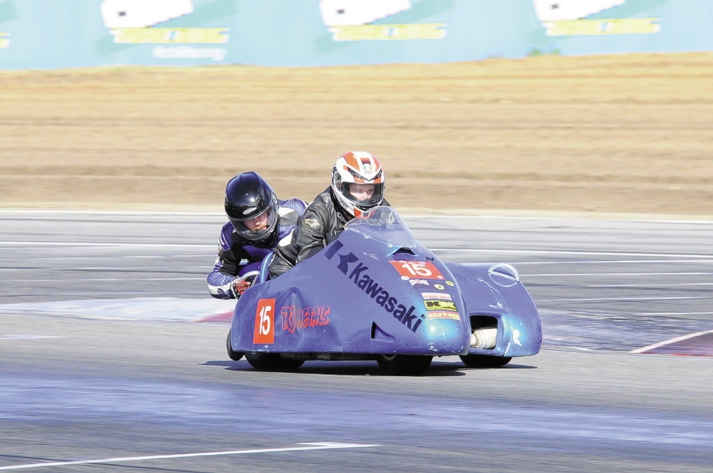 Sidecar newcomers Eamon Mulholland and James Sheahan. Photo: Innesphotografix