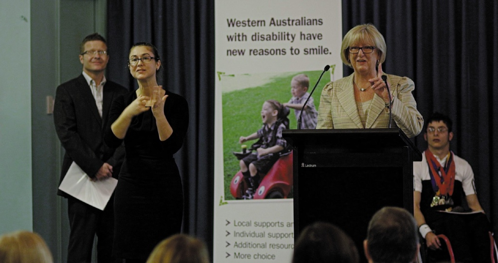 State Disability Services Minister Helen Morton says the NDIS My Way trial in Cockburn and Kwinana will be an important addition.