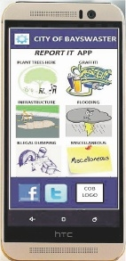 Impression of the app.