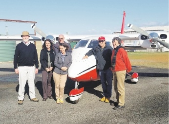 Peel-Harvey Catchment Council staff escorted Environmental Protection Authority board members on an aerial tour recently.