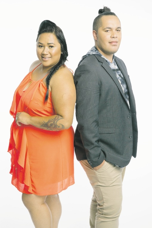 Husband and wife Paula Parore and Darius Clay, known as Aviida, are on The Voice 2015.