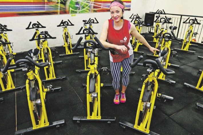 Hannah Retel is gearing up for the Bike for Heart Day.