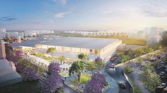 An artist's impression of the future recreation centre.