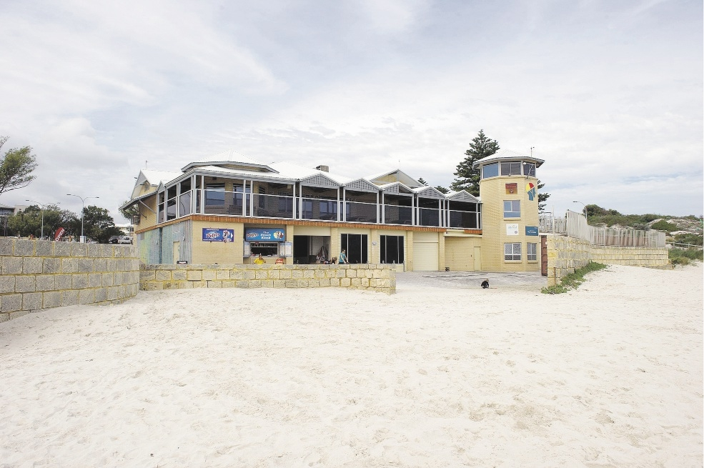 The Mullaloo Surf Life Saving club needs funds for a refurbishment.