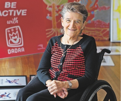 Disability in the Arts,  Disadvantage in the  Arts WA chairwoman  Helen Errington. Picture: Martin Kennealey d436063