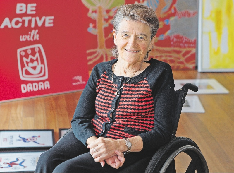 Disability in the Arts, Disadvantage in the Arts WA chairwoman and Carlisle resident Helen Errington. Picture: Martin Kennealey www.communitypix.com.au   d436063