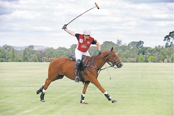 Garrett Prendiville in action on horse Decimal.