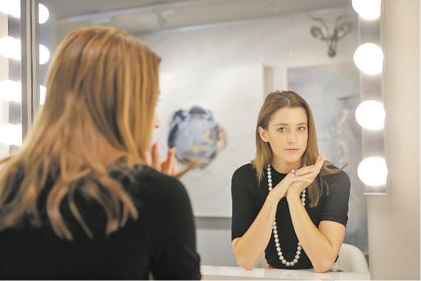 Businesswoman Poppy Lissiman walked away from designing clothes two years ago because of Australian production costs.  Picture: Andrew Ritchie www.communitypix.com.au   435837