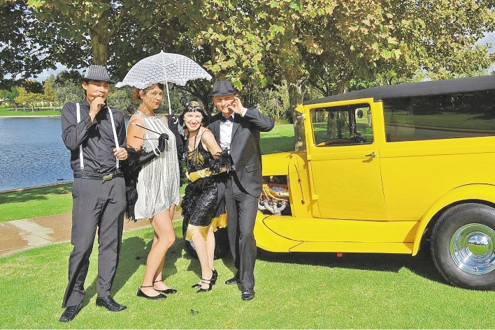 The Great Gatsby Ball will be in full swing to raise money for the Guide Dogs Association of WA.