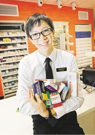 Kenneth Lee won the WA Young Pharmacist of the Year. Picture: David Baylis               d435381