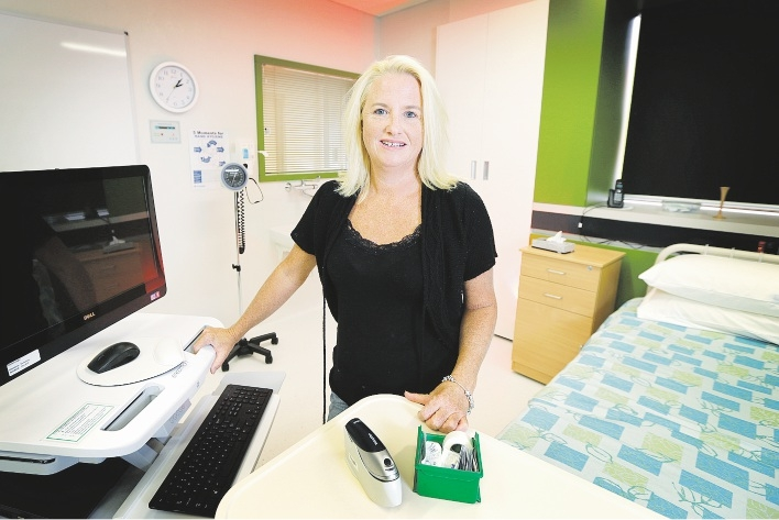 St John of God Hospital Nursing and Midwifery research co-ordinator Janie Brown, a State nursing award finalist. Picture: David Baylis        www.communitypix.com.au   d435870