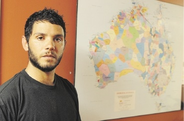 Braden Hill of White Gum Valley is manager of Kulbardi Aboriginal Centre at Murdoch University.