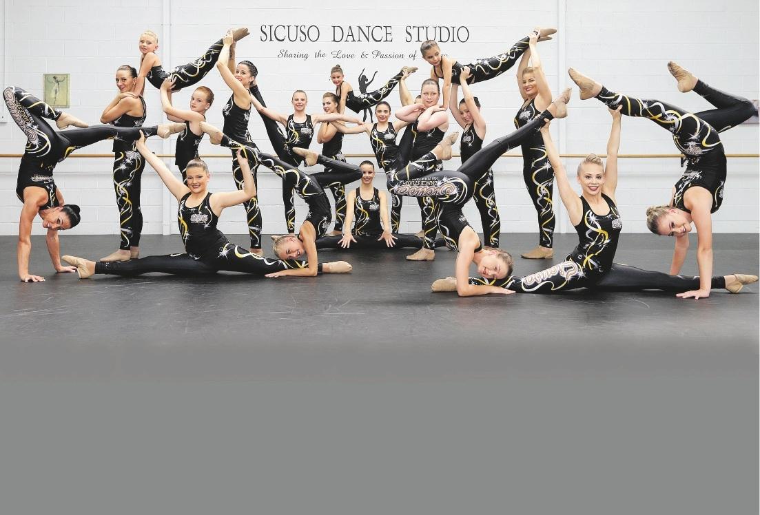 Sicuso Dance Studio dancers.
