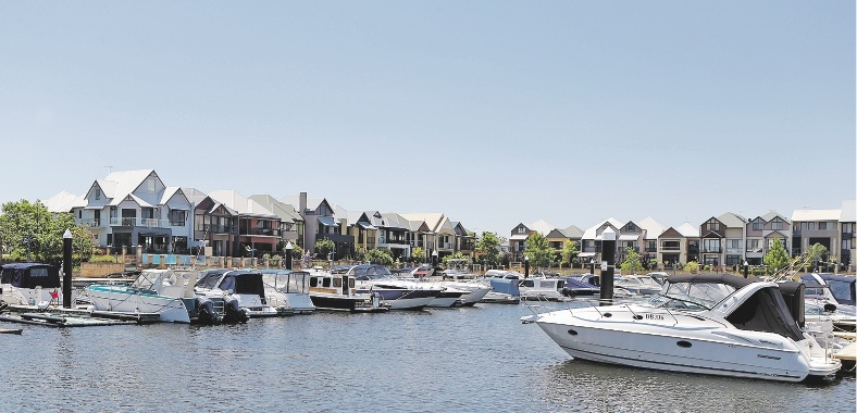 A statewide review of boat moorings has boat owners worried. Picture: Martin Kennealey    d433132