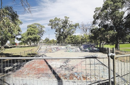 Kwinana skate park will be upgraded and redesigned.         d435457