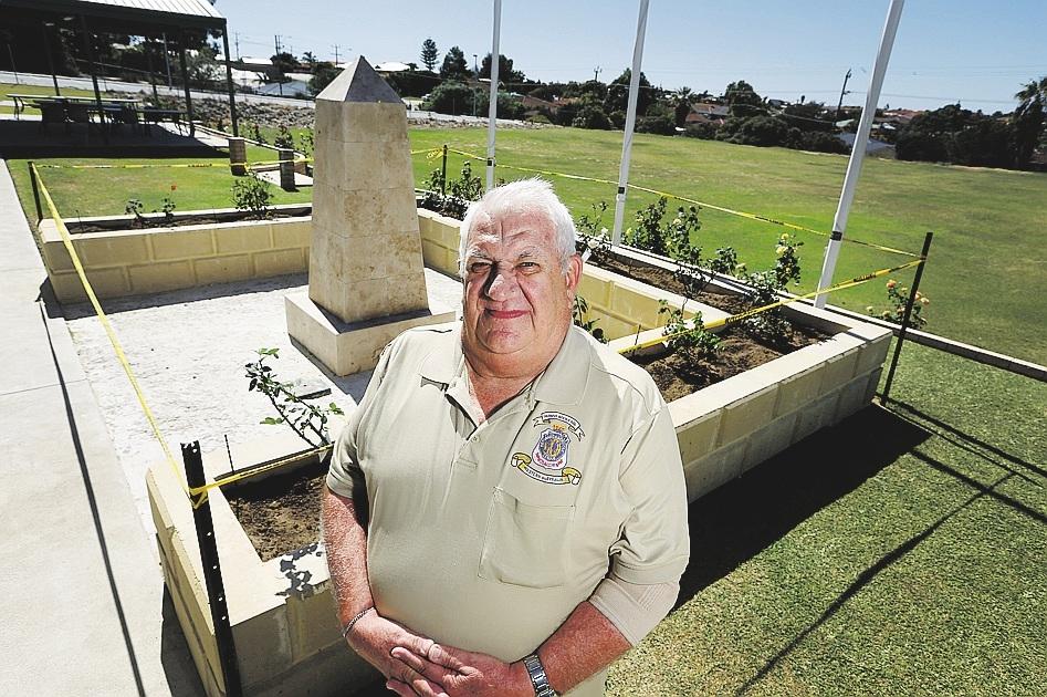 Peter Lofdahl, president of the Quinns Rocks RSL, has fond memories of mateship during his tour in Vietnam.