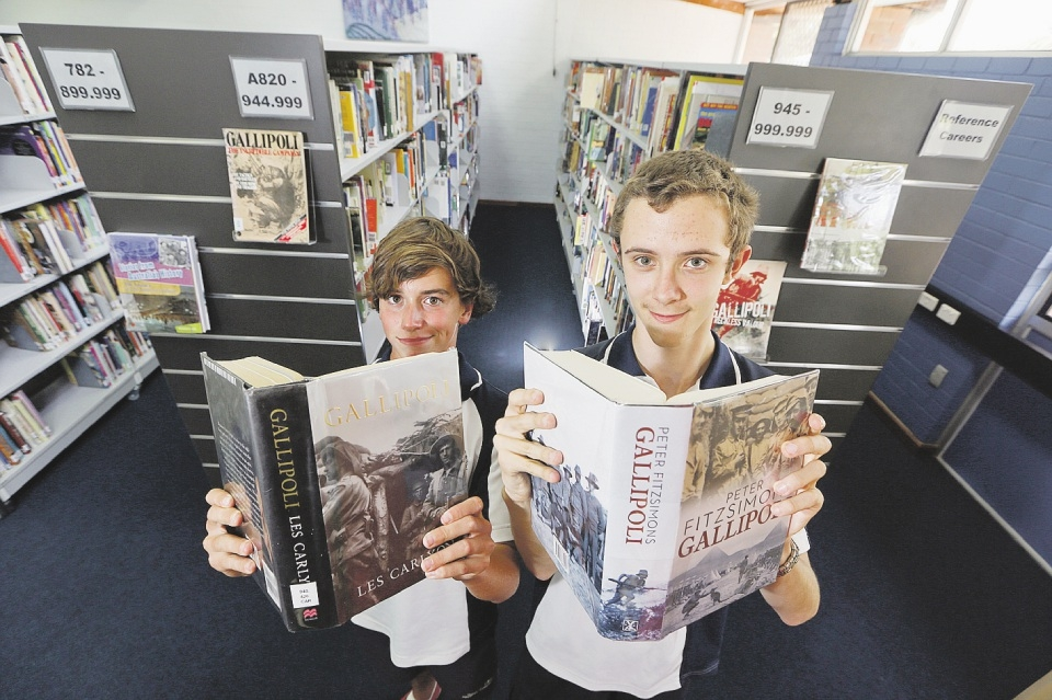 Nick Stevens and Jett Fisher will travel to Turkey for the 2015 Gallipoli tour.
