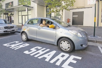 GoGet CarShare user Bruce Jeffreys.