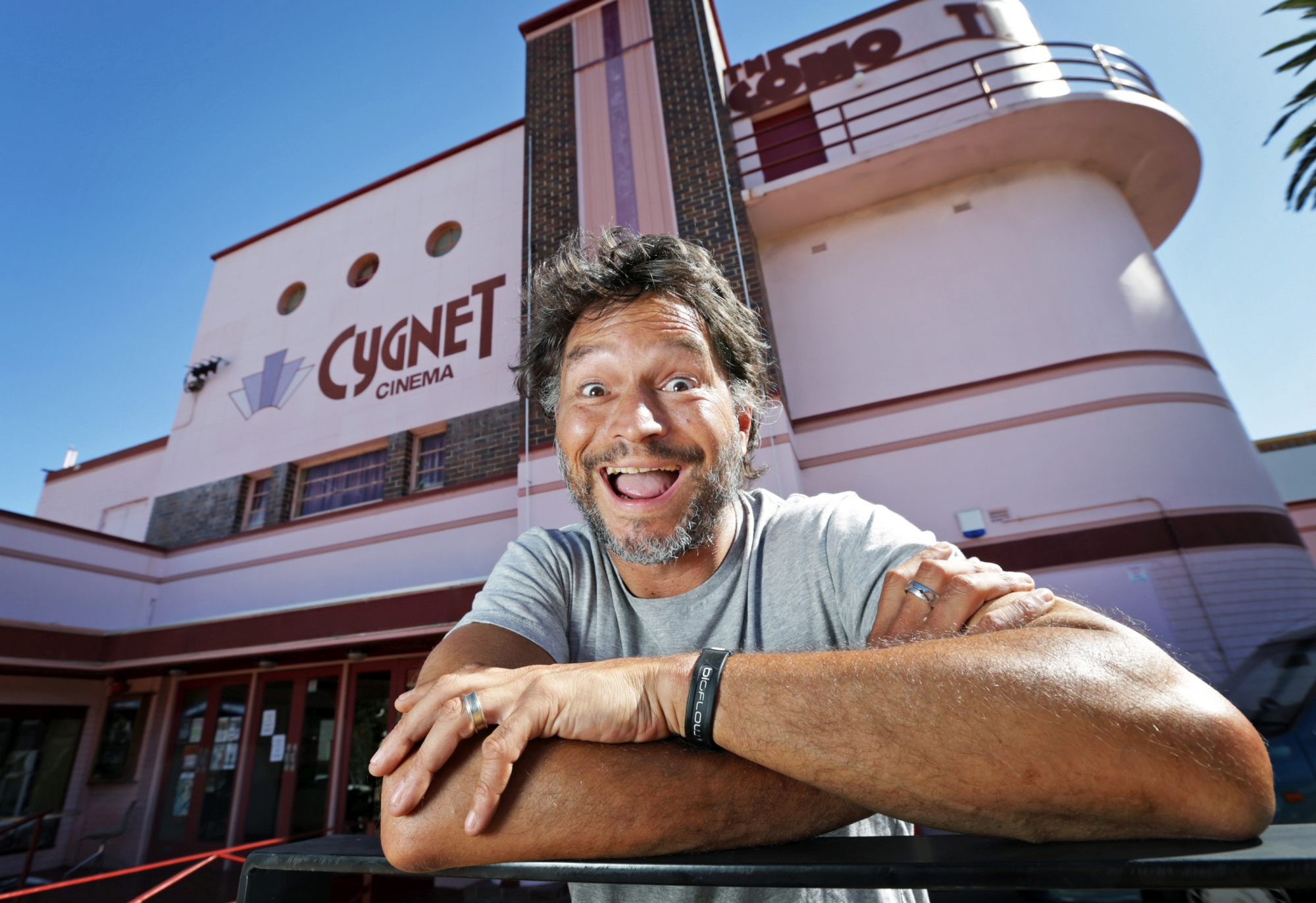 Derek Nannup will be a judge for Deadly Funny at Cygnet Cinema in Como on Thursday.