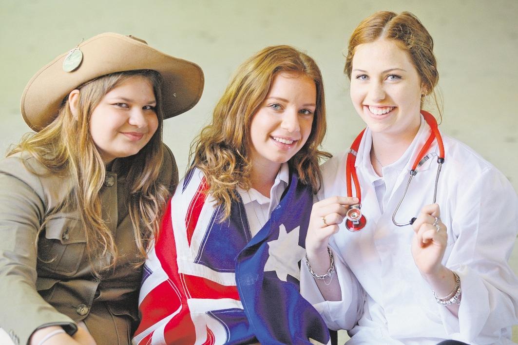 Chei-Lani Bialobrodzki, Jade Harris and Tenae Rivers will visit Canberra.
