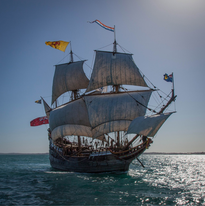 The Duyfken will be in Mandurah from September 5 to 14.