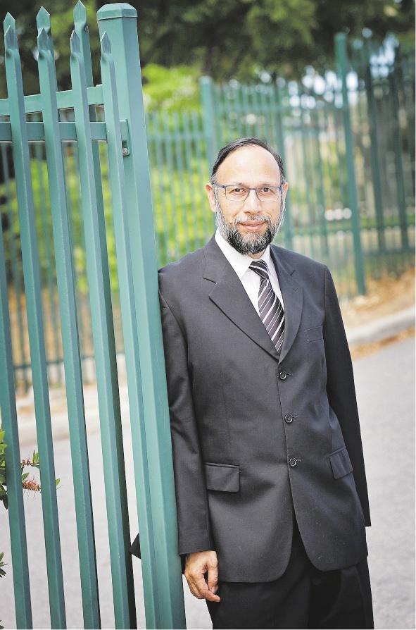 Australian Islamic College executive principal Abdullah Khan.