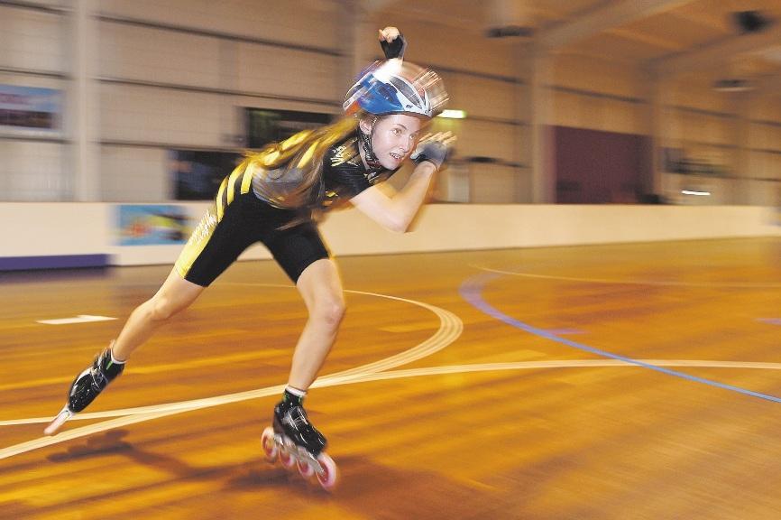 Skater Kayleen Vance.