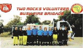 The Two Rocks Volunteer Bush Fire Brigade calendar.