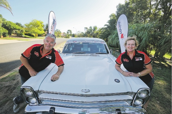 Mark and Kim Gardiner are taking part in the Variety Creative Car Cruise for the third year running. Picture: Emma Goodwin