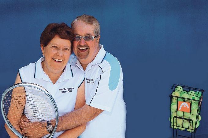 Love match... Nola and Chris Wilson Picture: Martin Kennealey www.communitypix.com.au d427706
