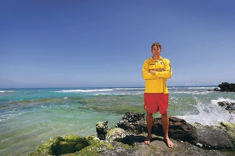 Trigg Island Surf Lifesaving Club captain Dan Humble. Picture: Andrew Ritchie d427851