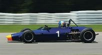 Travis Engen's three Barbagallo-bound classic racers – a Chevron, Lotus and Ralt – got lost in transit.