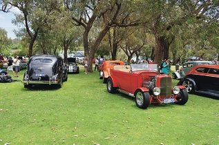 Almost 300 cars rolled into Yanchep National Park for the Goodfellas Hot Rod Club's 2013 picnic in the park.