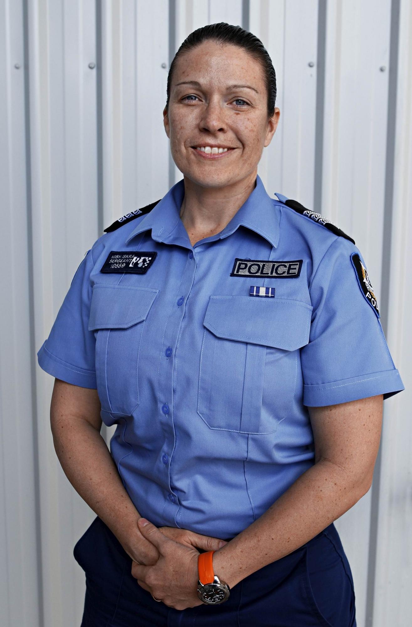 Sgt. Mish Iskra (Traffic Enforcement Group)