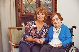 Elderly benefit from home visits