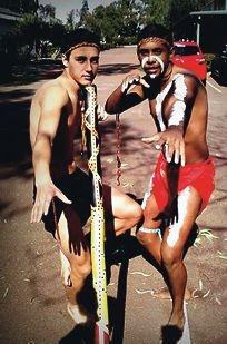 Jay Mclean and Derek Nannup.