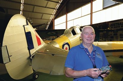 Aviation Heritage Museum volunteer Brian Farr says the collection is one of Perth's best-kept secrets.